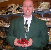 neil with strasberries